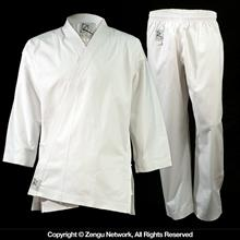 KD Elite 11 oz. White Heavyweight Karate Uniform